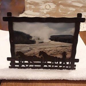 4x6 horse photo frame